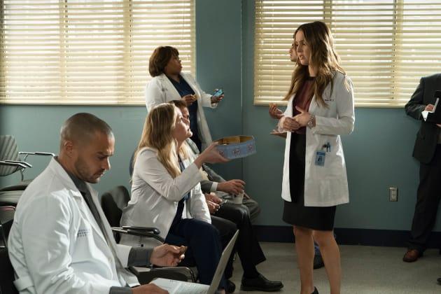Presentation Day Jitters - Grey's Anatomy Season 14 Episode 20