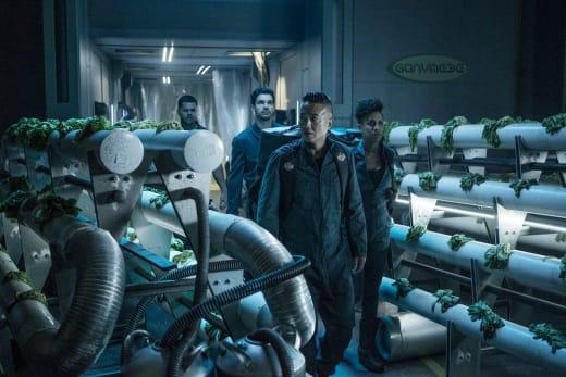 Arrival at Ganymede - The Expanse Season 2 Episode 10