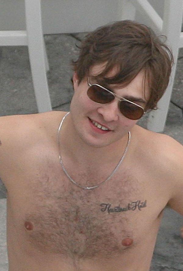 Ed Westwick Shirtless