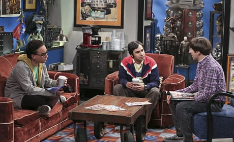 Take a Break - The Big Bang Theory Season 9 Episode 2
