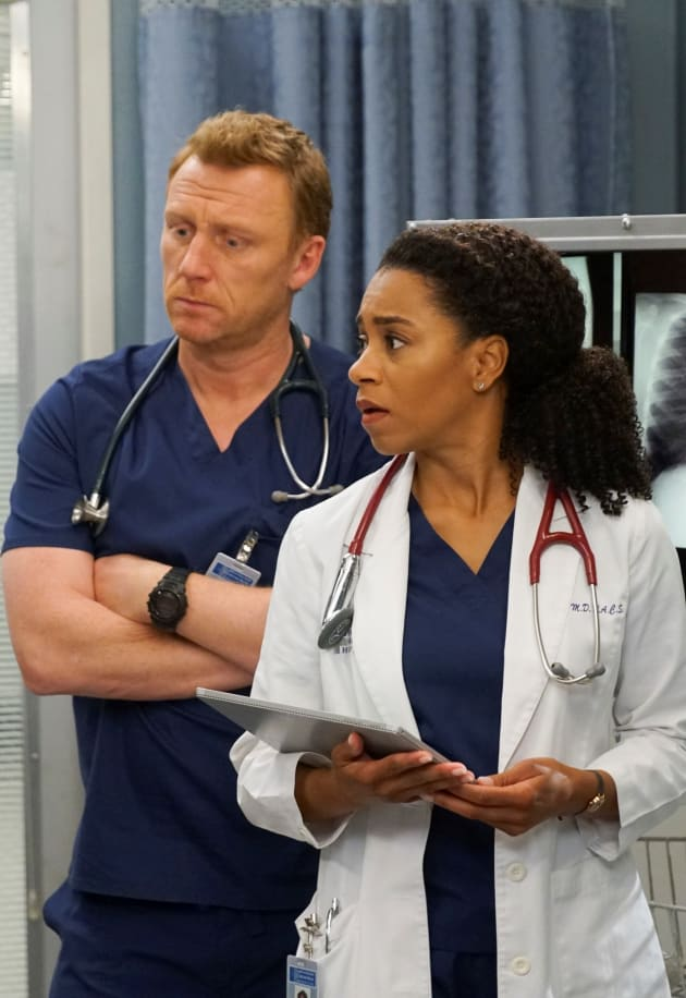 Trauma and Cardio Team - Tall - Grey's Anatomy Season 15 Episode 23