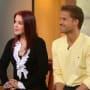Priscilla Presley and Louis van Amstel