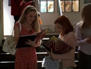 Signing Yearbooks - Buffy the Vampire Slayer