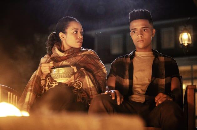 Charley and Micah - Queen Sugar Season 3 Episode 6