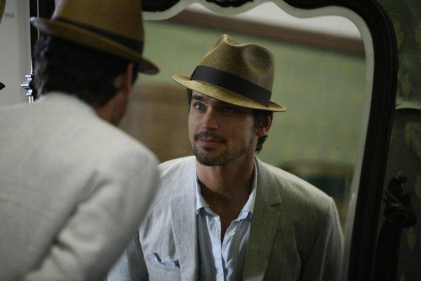 Neal Caffrey Reflection