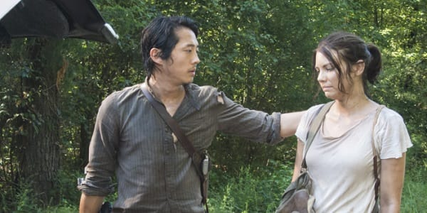 Maggie and Glenn - The Walking Dead