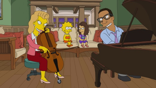 A Cultured Family - The Simpsons