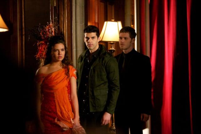 Josh, Davina and Klaus