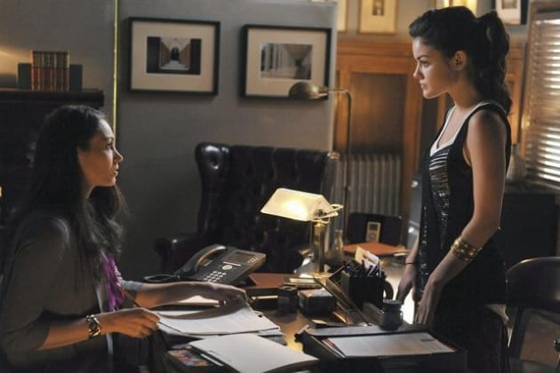 Spencer and Aria