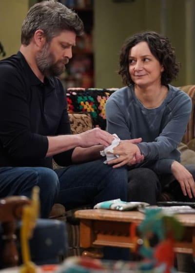Ben Cares For Darlene - The Conners Season 3 Episode 13