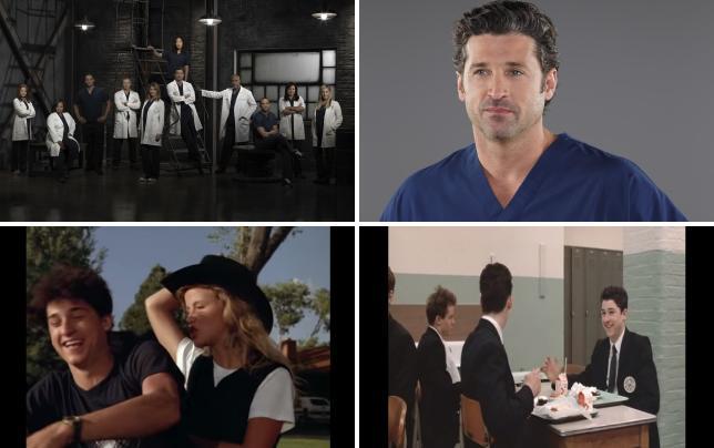 Greys anatomy season 9 cast photo