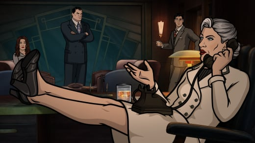 Too Much Is Revealed - Archer