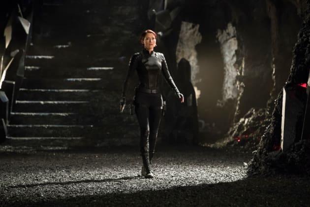 Alex in Battle - Supergirl Season 3 Episode 17