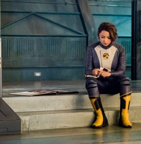 Somber Nora - The Flash Season 5 Episode 5