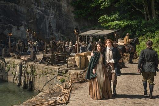 Strolling the Docks - Outlander