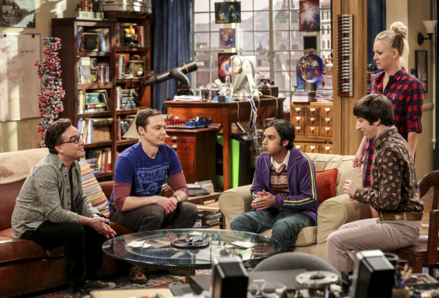Raj is Stressed - The Big Bang Theory Season 10 Episode 16