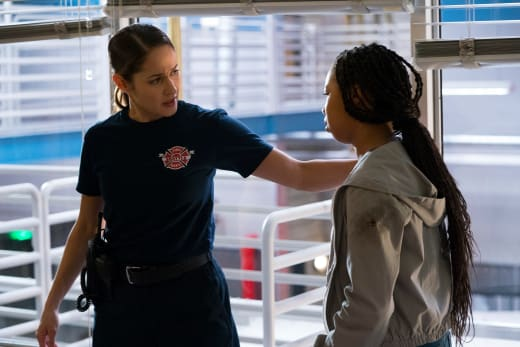 Andy Comforts - Station 19 Season 2 Episode 11