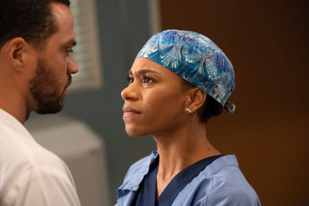 Telling Jackson - Grey's Anatomy Season 15 Episode 8