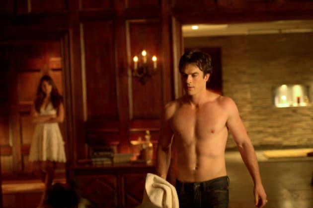 Topless Damon