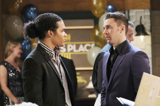 Theo Confesses His Feelings - Days of Our Lives