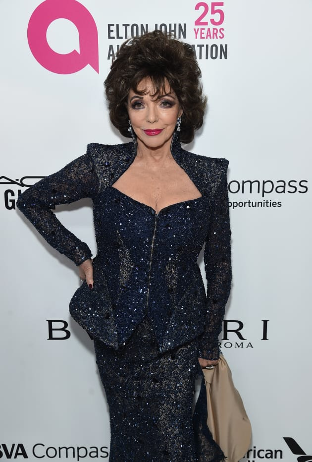 Joan Collins Attends Event