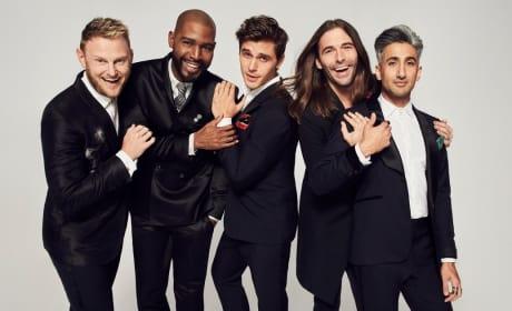 The Fab Five Cast Photo