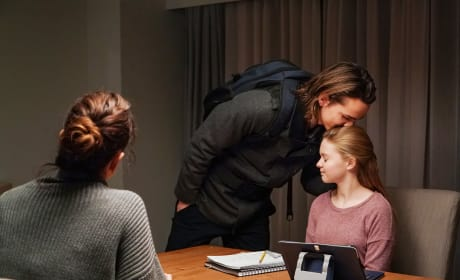 Bram is Gracie's Stand-in Parent - Colony Season 3 Episode 8
