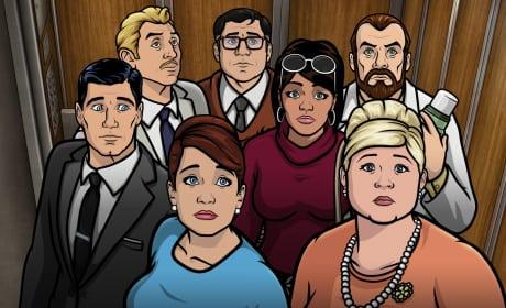 Sad Faces - Archer Season 6 Episode 5
