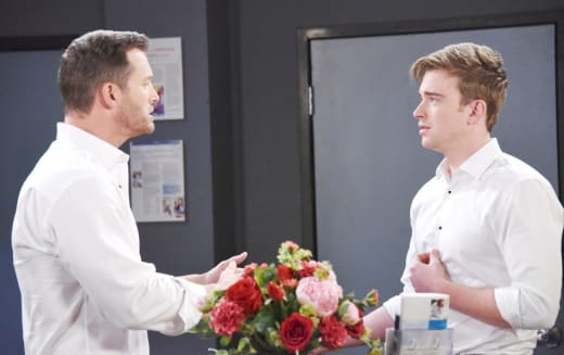 Brady Tells Off Will - Days of Our Lives