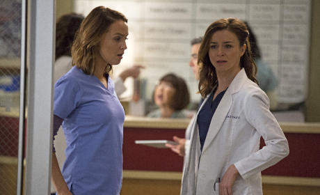 Jo and Amelia - Grey's Anatomy Season 12 Episode 4