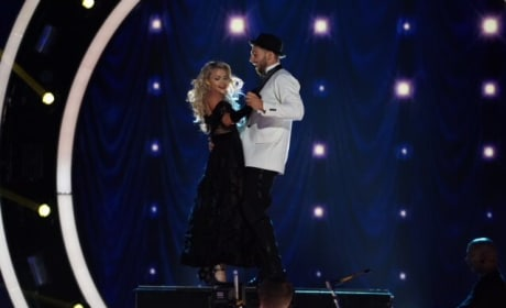Chris Mazdzer Honors Him Mom - Dancing With the Stars: Athletes Season 26 Episode 3