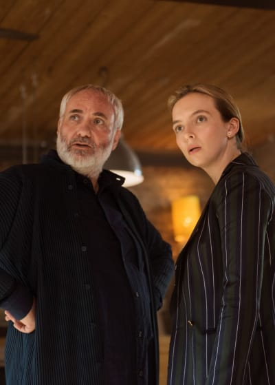 Konstantin Looks Surprised - Killing Eve Season 2 Episode 6