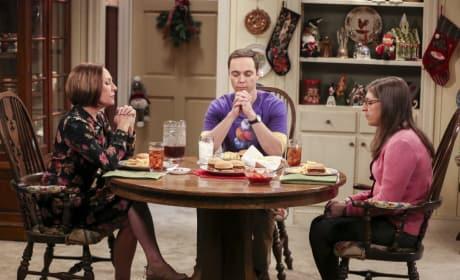 A Special Holiday Meal - The Big Bang Theory Season 10 Episode 12