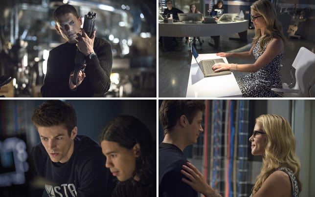 Hot captain cold the flash s1e4