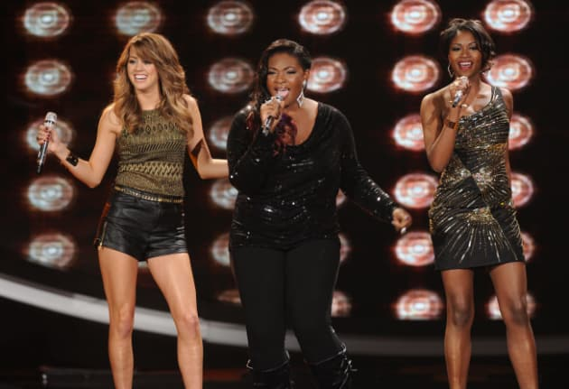 Angie Miller, Candice Glover and Amber Holcomb