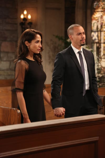 Devon and Lily Say Goodbye - The Young and the Restless