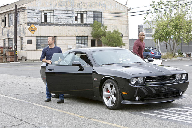 Sam and Callen Get Out of Car