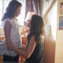 Kira and Sarah - Orphan Black Season 5 Episode 4