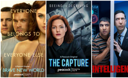 Peacock Reviews for Brave New World, The Capture, and Intelligence