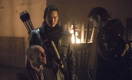 Unimpressed - Arrow Season 3 Episode 18