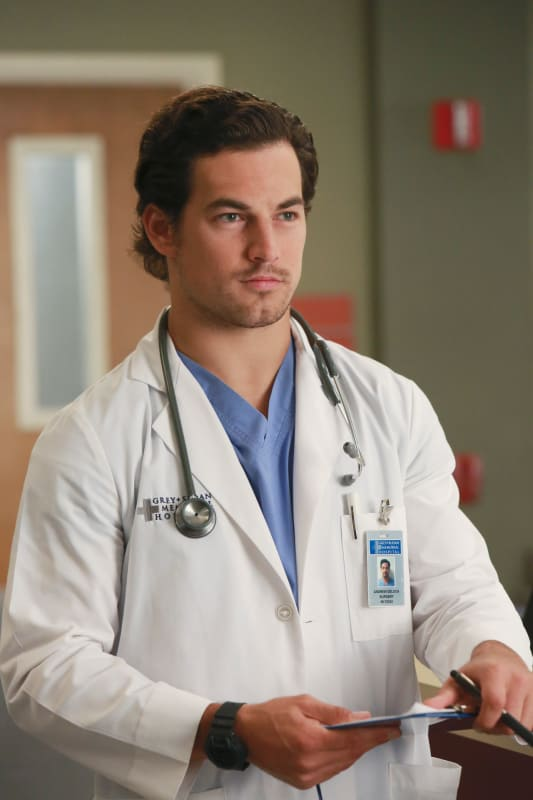 Andrew Has a Lot on His Mind - Grey's Anatomy Season 12 Episode 4