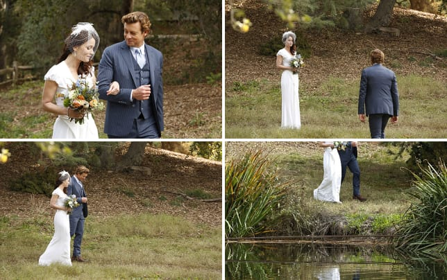 Walk down the aisle the mentalist