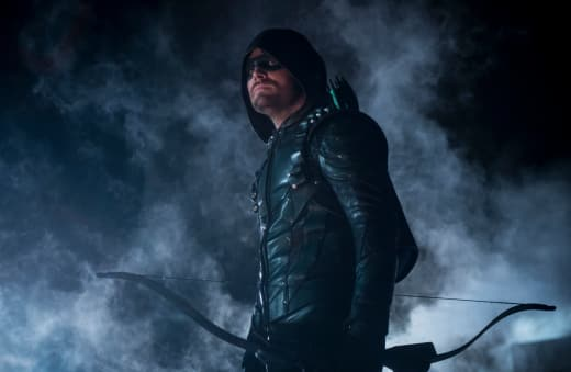 Green Arrow On the Hunt Season 6 Episode 23