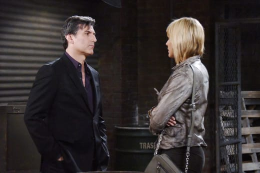 Nicole Begs Deimos To Forgive Her - Days of Our Lives