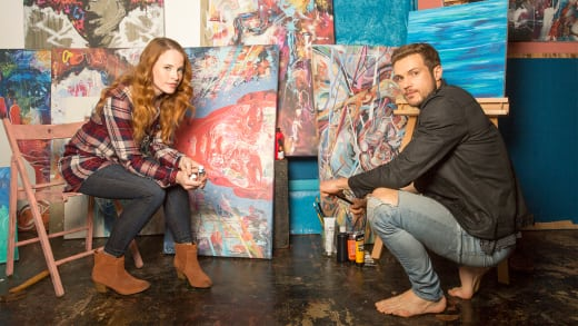Katie Leclerc and Ryan Cooper
