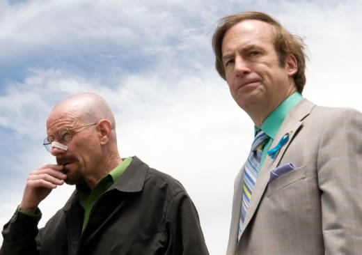 Walt and Saul