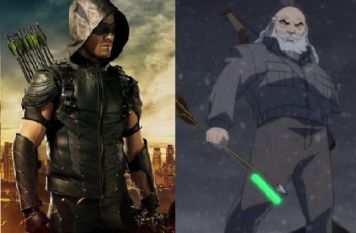 Green Arrow Old