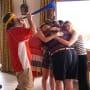 the group celebrates - The Last Man on Earth Season 4 Episode 13