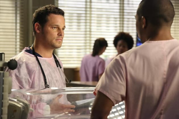 Karev in the NICU