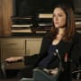 Liz in Harold's Office - The Blacklist Season 5 Episode 15